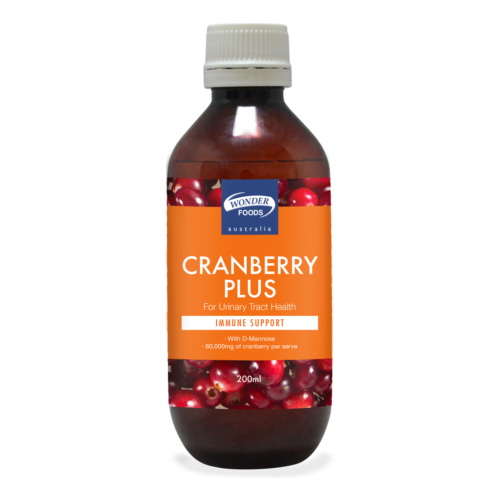 Wonder Foods Cranberry Plus 200ml
