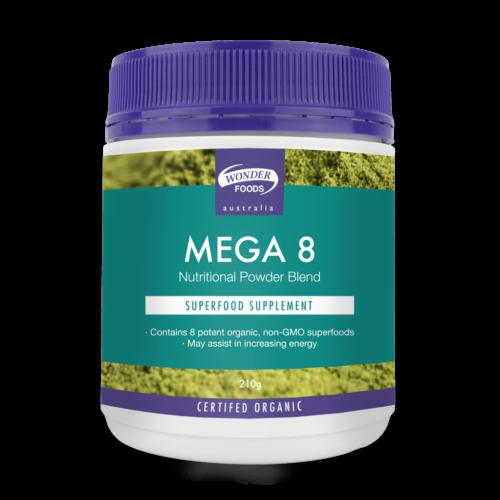 Mega 8 Organic Superfoods 210g