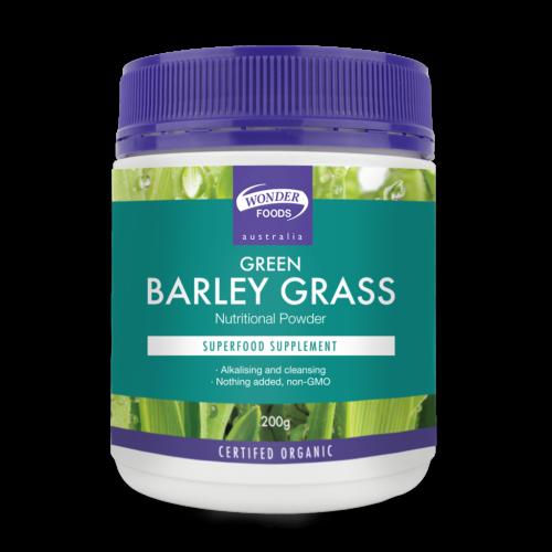 Green Barley Grass Organic