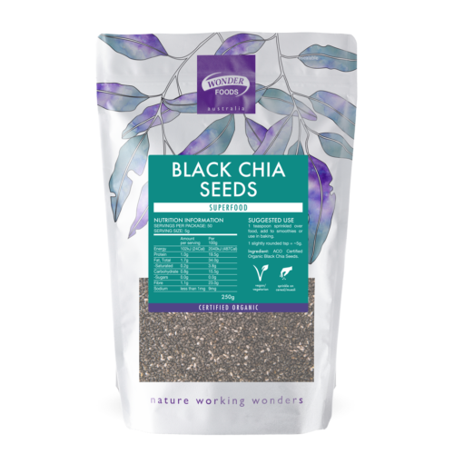 Black Chia Seeds Organic