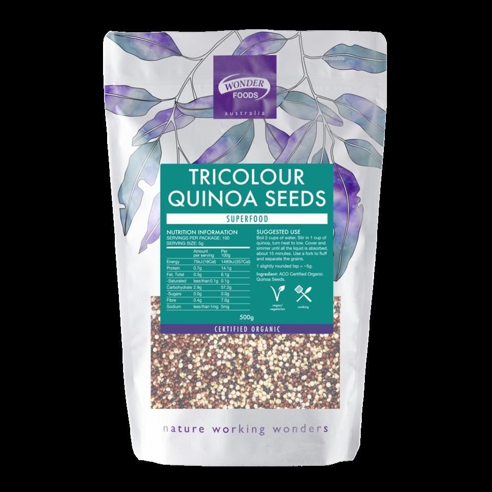 Tricolour Quinoa Seeds