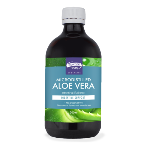Wonder Foods Microdistilled Aloe Vera