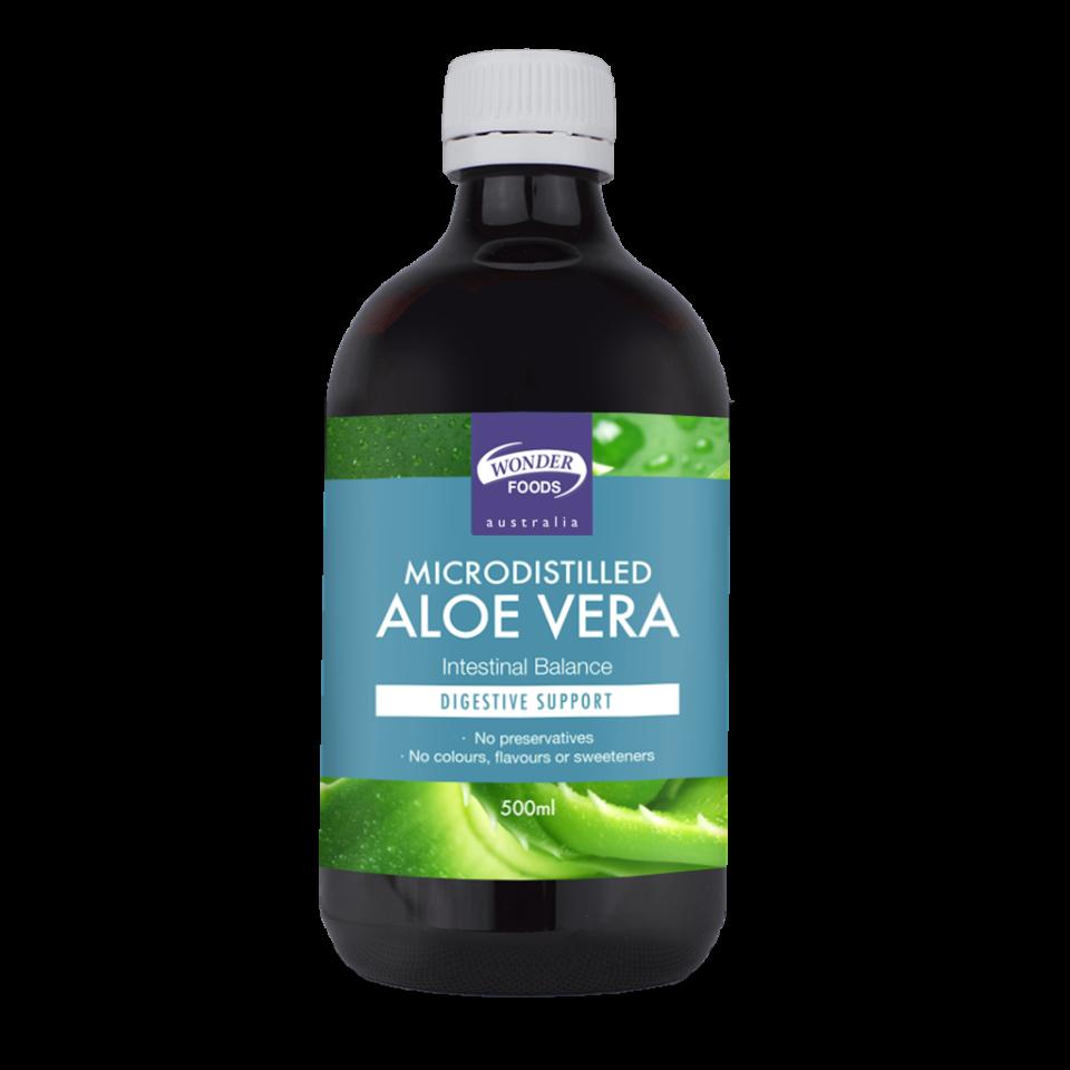 Wonder Foods Microdistilled Aloe Vera
