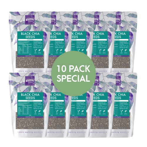 Chia Seed 10 Pack Special