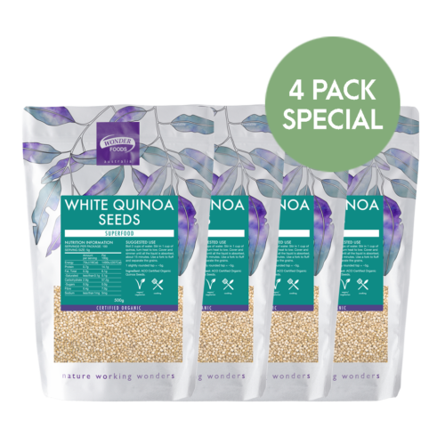 Quinoa 4 pack special