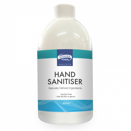 Wonder Foods Hand Sanitiser Alcohol-free