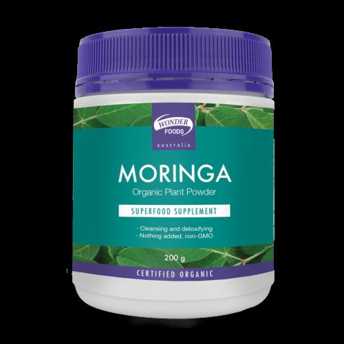 Wonder Foods Organic Moringa Powder 200g