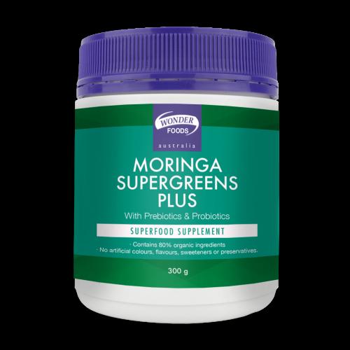 Wonder Foods Moringa Supergreens Plus